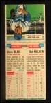 1955 Topps Double Header #117 #118 Steve Bilko / Bob Millikin  Back Thumbnail