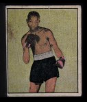 1951 Berk Ross #12 D Sandy Saddler  Front Thumbnail