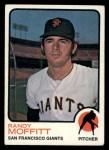 1973 Topps #43  Randy Moffitt  Front Thumbnail