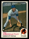 1973 Topps #22  Ted Abernathy  Front Thumbnail