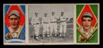 1912 T202 Hassan   -  Harry Krause / Ira Thomas The Athletic Infield  Front Thumbnail