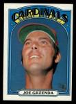1972 Topps #13  Joe Grzenda  Front Thumbnail