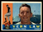 1960 Topps #453  Vern Law  Front Thumbnail