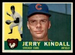 1960 Topps #444  Jerry Kindall  Front Thumbnail