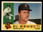 1960 Topps #544  Bill Monbouquette  Front Thumbnail