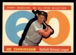 1960 Topps #562   -  Joe Cunningham All-Star Front Thumbnail