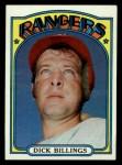 1972 Topps #148  Dick Billings  Front Thumbnail