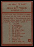 1965 Philadelphia #98   -  Hartland Svare Los Angeles Rams  Back Thumbnail