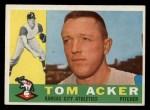 1960 Topps #274  Tom Acker  Front Thumbnail