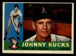 1960 Topps #177  Johnny Kucks  Front Thumbnail