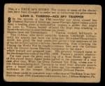 1939 Gumakers of America True Spy Stories #8   Leon G. Turrou - Ace Spy Trapper Back Thumbnail