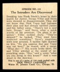 1931 Johnson Candy Dick Tracy R41 #133   The Intruders are Discovered Back Thumbnail