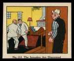 1931 Johnson Candy Dick Tracy R41 #133   The Intruders are Discovered Front Thumbnail