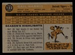 1960 Topps #152  Gail Harris  Back Thumbnail