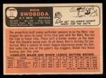 1966 Topps #35  Ron Swoboda  Back Thumbnail