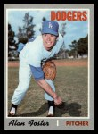 1970 Topps #369  Alan Foster  Front Thumbnail