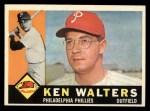 1960 Topps #511  Ken Walters  Front Thumbnail
