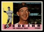 1960 Topps #23  Eddie Fisher  Front Thumbnail