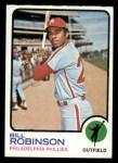 1973 Topps #37  Bill Robinson  Front Thumbnail