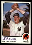 1973 Topps #46  Lindy McDaniel  Front Thumbnail