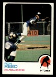 1973 Topps #72  Ron Reed  Front Thumbnail