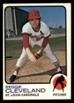 1973 Topps #104  Reggie Cleveland  Front Thumbnail