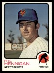 1973 Topps #107  Phil Hennigan  Front Thumbnail