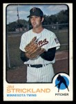 1973 Topps #122  Jim Strickland  Front Thumbnail