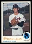1973 Topps #122  Jim Strickland  Front Thumbnail