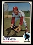 1973 Topps #166  Terry Harmon  Front Thumbnail