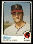 1973 Topps #178  Don Rose  Front Thumbnail
