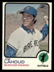 1973 Topps #212  Joe Lahoud  Front Thumbnail