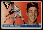 1955 Topps #104  Jack Harshman  Front Thumbnail