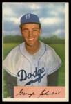1954 Bowman #202  George Shuba  Front Thumbnail