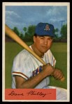 1954 Bowman #163 TR Dave Philley  Front Thumbnail