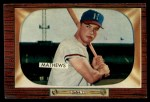 1955 Bowman #103  Eddie Mathews  Front Thumbnail