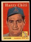 1958 Topps #119  Harry Chiti  Front Thumbnail