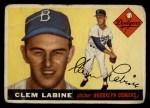 1955 Topps #180  Clem Labine  Front Thumbnail