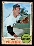 1968 Topps #97  Tom Phoebus  Front Thumbnail