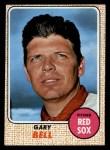 1968 Topps #43  Gary Bell  Front Thumbnail