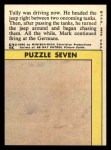 1966 Topps Rat Patrol #52   Tully Was Driving Now Back Thumbnail
