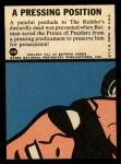 1966 Topps Batman Blue Bat Puzzle Back #36 PUZ  Pressing Position Back Thumbnail
