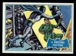 1966 Topps Batman Blue Bat Puzzle Back #36 PUZ  Pressing Position Front Thumbnail