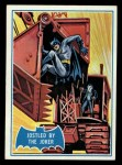 1966 Topps Batman Blue Bat Puzzle Back #30 PUZ  Jostled by the Joker Front Thumbnail