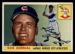 1955 Topps #110  Gus Zernial  Front Thumbnail