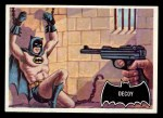 1966 Topps Batman Black Bat #49 BLK  Decoy Front Thumbnail
