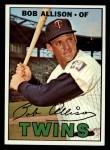 1967 Topps #194  Bob Allison  Front Thumbnail