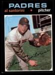 1971 Topps #467  Al Santorini  Front Thumbnail