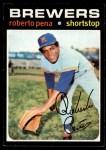 1971 Topps #334  Roberto Pena  Front Thumbnail
