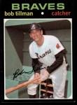 1971 Topps #244  Bob Tillman  Front Thumbnail